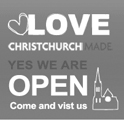 Love Christchurch logo