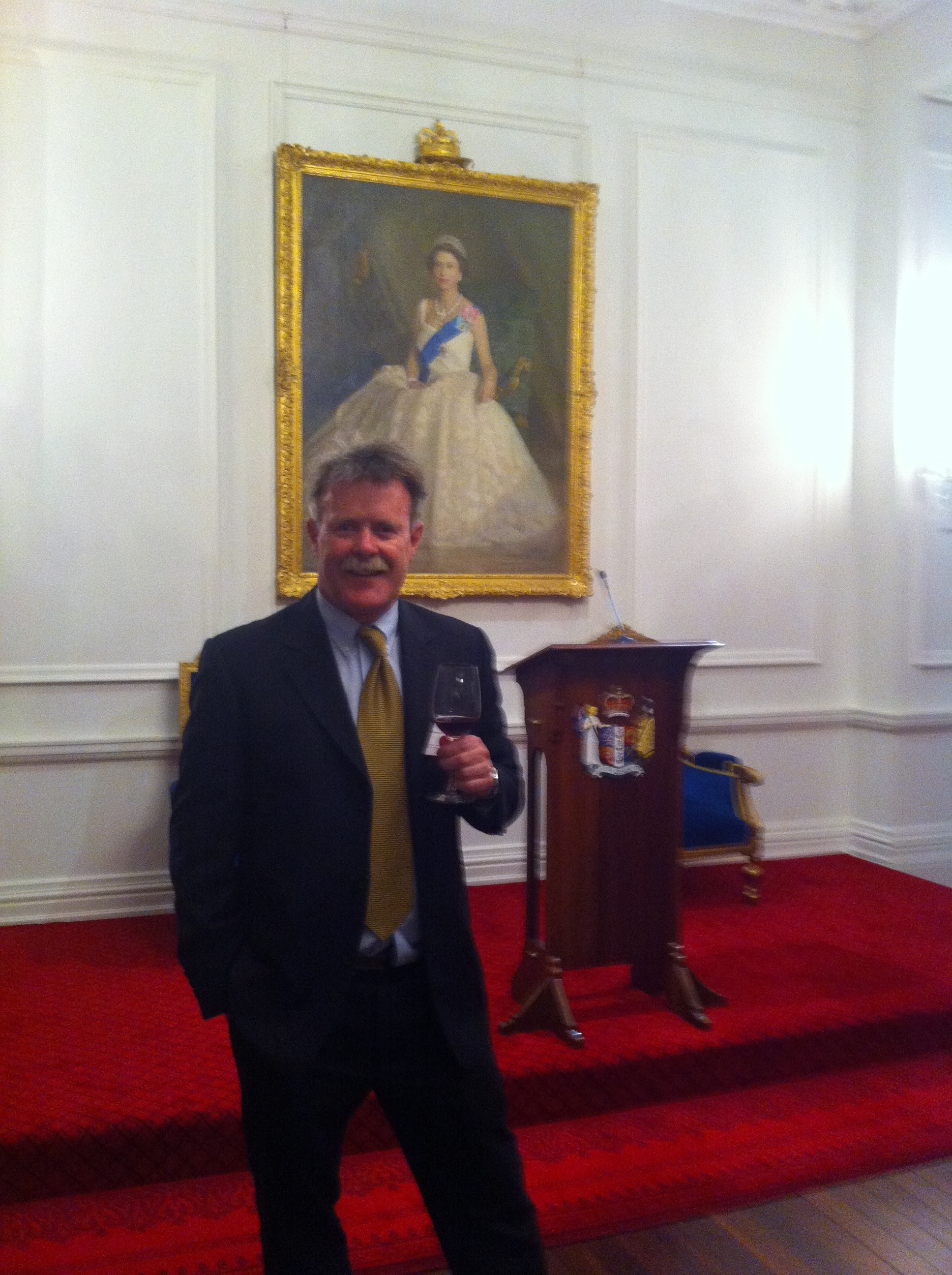 Governor General party, Government House, Wellington.